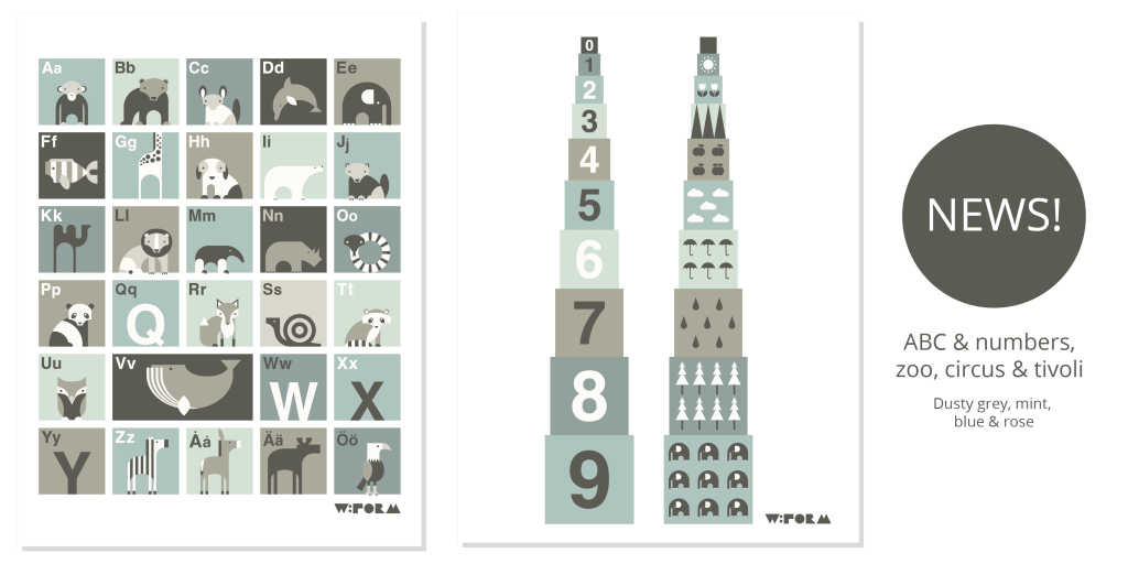 w:form - danish design posters for kids. Free shipping worldwide!